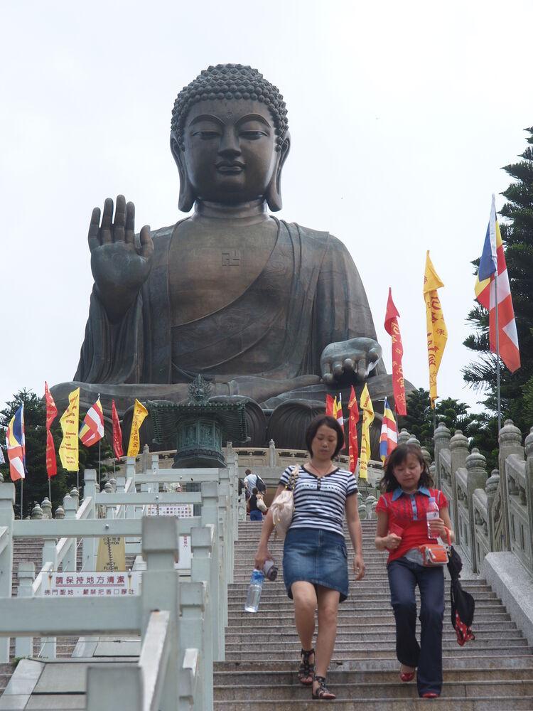 Lantau island, Hong Kong - big Buddha