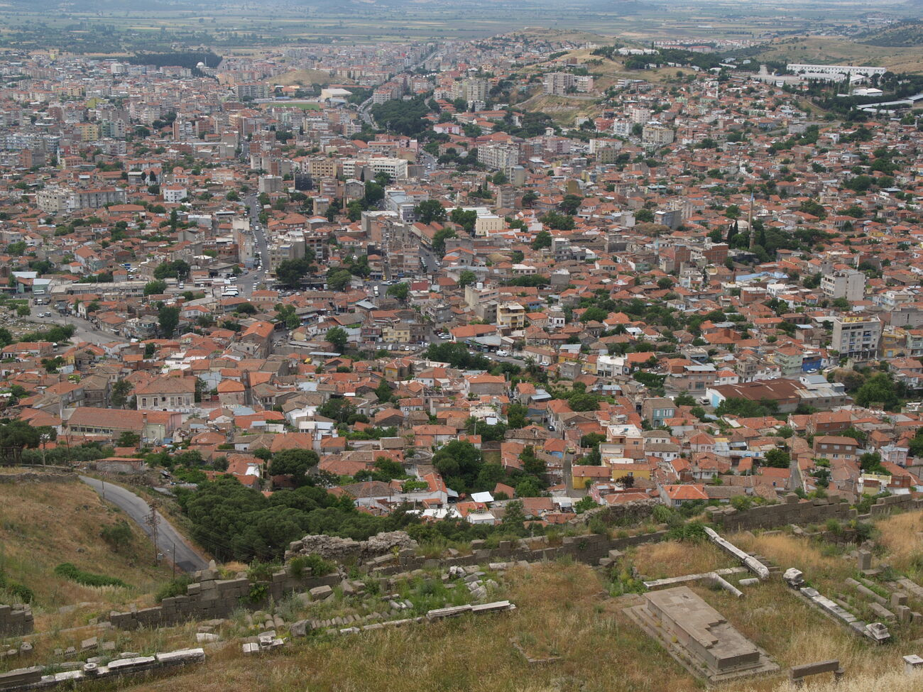 Bergama + Pergamon visit - Turkey travelogue
