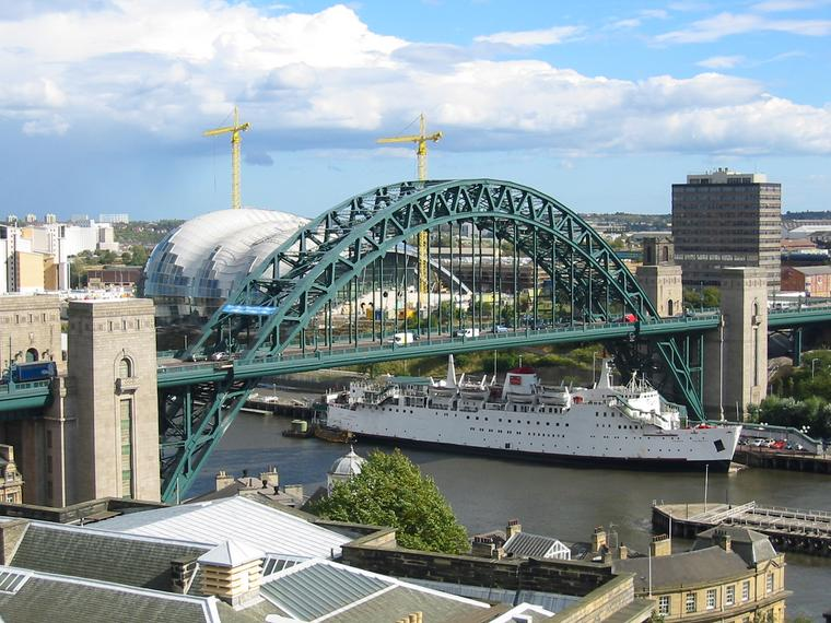 Tyne Bridge in UK